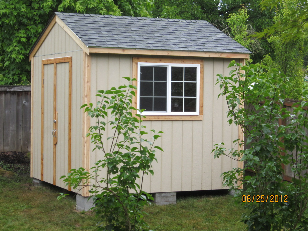 Storage sheds pacific outbuildings by berger construction for Custom storage sheds